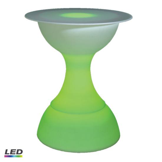 Hourglass Bar Table